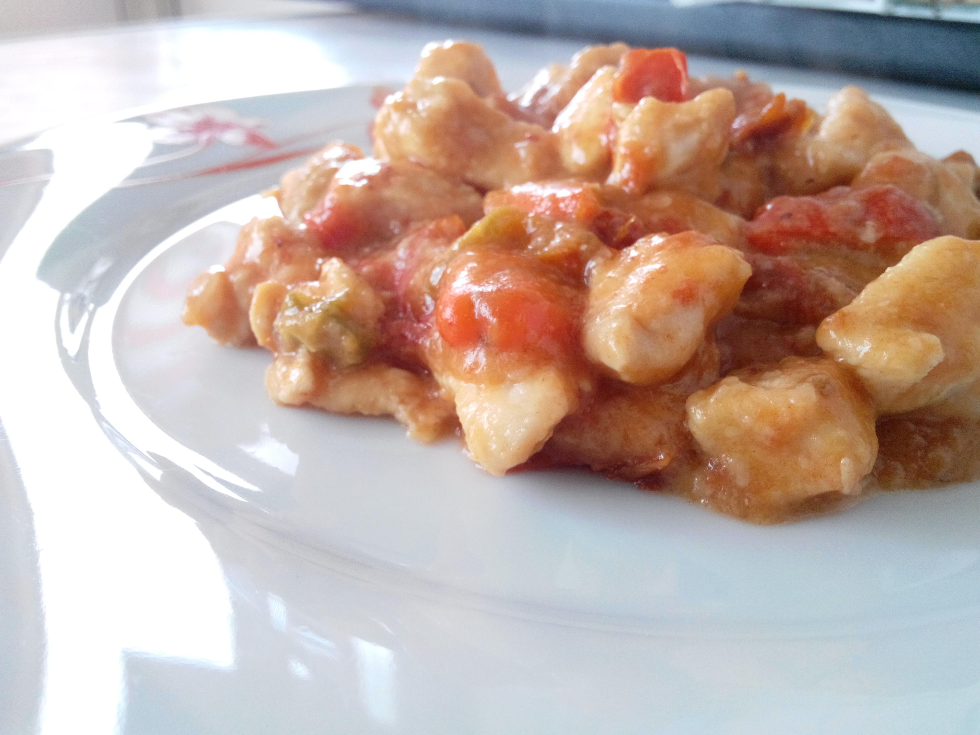 Pollo ai Peperoni e Pomodori secchi