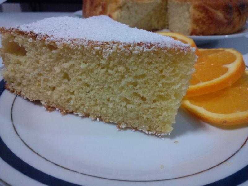 Torta Yogurt e Arancia